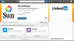 LinkedIn - Sun Solutions