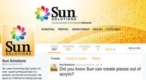 Twitter - Sun Solutions